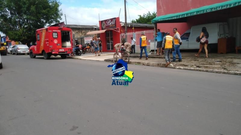Idoso é agredido com a própria bengala por empresário em Ji-Paraná