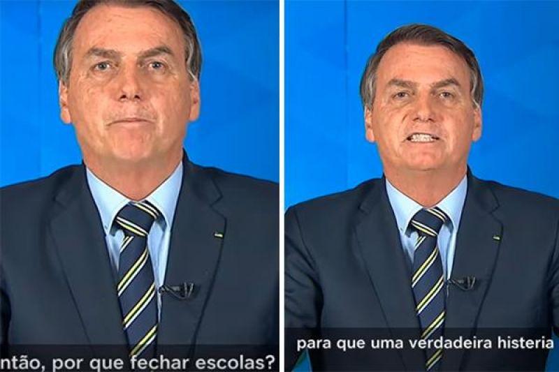 Entidades de saúde condenam pronunciamento de Bolsonaro sobre a Covid-19