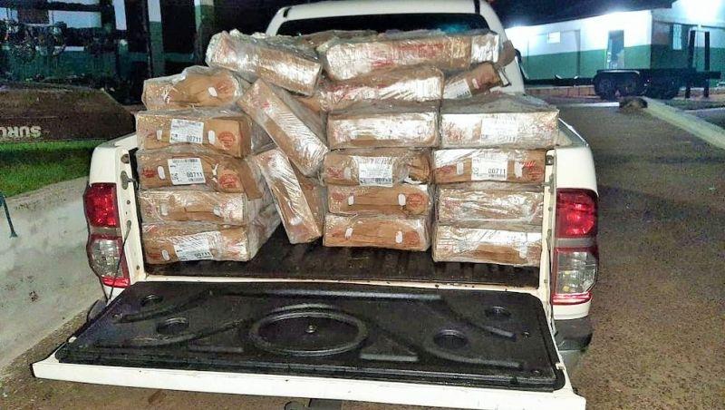 Polícia Federal apreende em RO três toneladas de carne de frango que seriam levadas para Bolívia