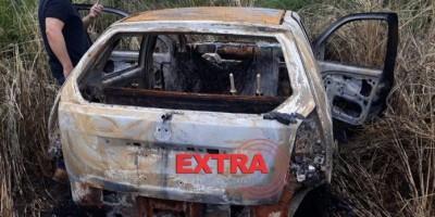 Polícia Civil prende dois suspeitos e encontra carro de empresário queimado na área...