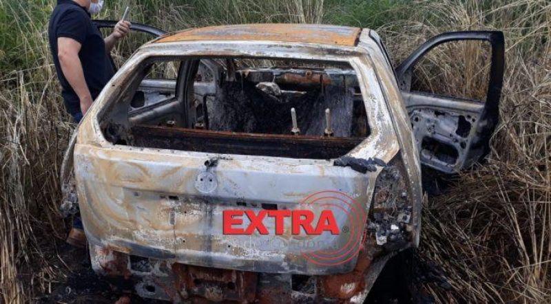 Polícia Civil prende dois suspeitos e encontra carro de empresário queimado na área rural de Vilhena
