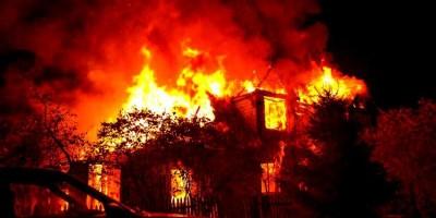 Homem incendeia casa com os quatro filhos dentro após briga com ex-mulher
