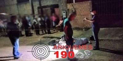 Homem é morto a tiros quando chegava em casa em Monte Negro