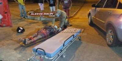 Dois acidentes são registrados no começo da noite desta quarta-feira em Rolim de Moura