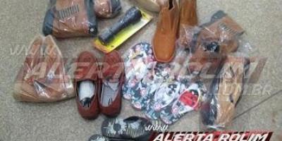 Rolim de Moura: Após arrombar loja de calçados e efetuar furto, individuo acaba preso...