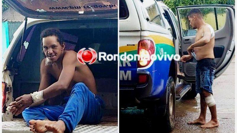 Homens brigam com faca e facão por causa de mulher em Porto Velho