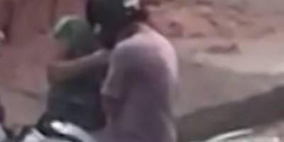 Homem de 29 anos é obrigado a pilotar moto com assaltante na garupa