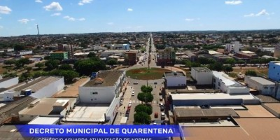 Comércio de Rolim de Moura aguarda atualização de decreto municipal de quarentena do...