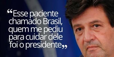 Mandetta diz que 'médico não abandona paciente', após críticas de Bolsonaro