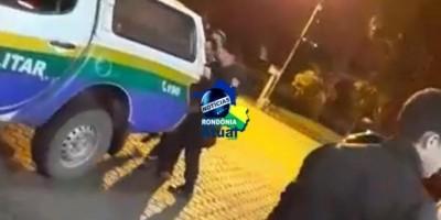 Homem é preso na rodoviária, após efetuar roubo a uma pessoa em Ji-Paraná