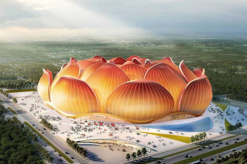 Chineses iniciam construção de estádio para 100 mil torcedores