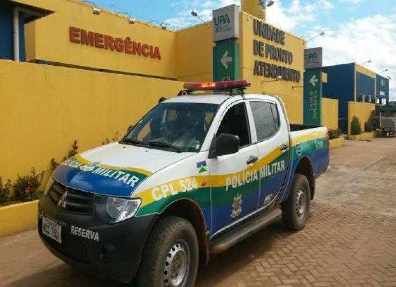Assaltante dispara no próprio corpo durante roubo de motocicleta