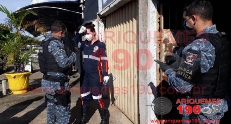 Homem é assassinado a tiros dentro de casa em Ariquemes