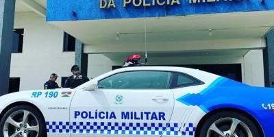 Camaro será utilizado como viatura pela Polícia Militar em Porto Velho