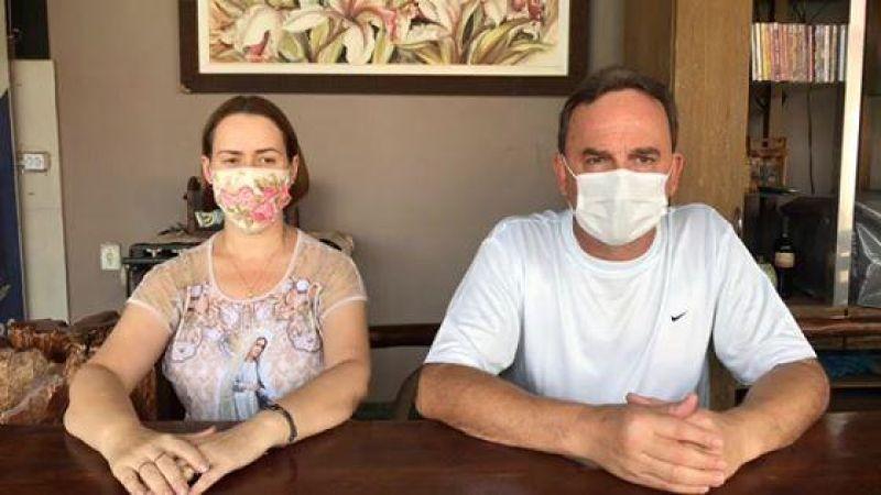 Prefeitura de Rolim de Moura anuncia novo caso de coronavírus no município; Paciente é esposa do vice-prefeito; veja o vídeo