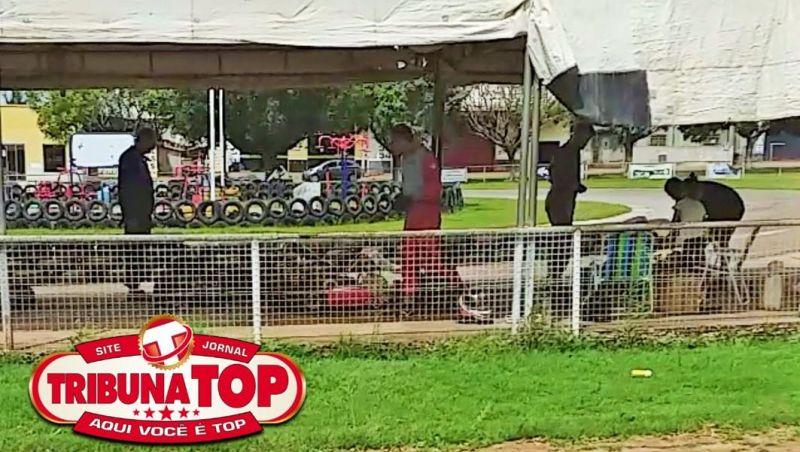 Flagrante: Internautas registram movimentação de karts na Pista na manhã deste domingo, horas depois de Rolim confirmar 5º caso de Covid-19; veja o vídeo