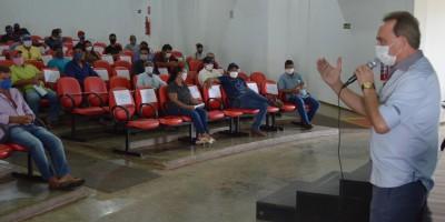 Prefeitura de Rolim de Moura se reúne com feirantes para combater coronavírus