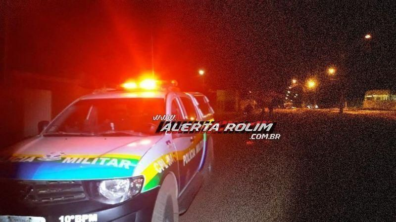 Armado com faca, bandido invade residência, ameaça moradora, rouba TV e aparelho celular em Rolim de Moura