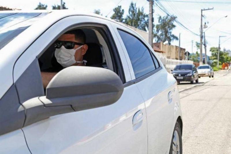 Uso de máscaras em motoristas é obrigatório? Entenda as regras em Rolim de Moura