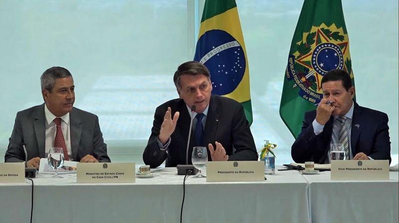 STF divulga vídeo da reunião ministerial em inquérito que investiga Bolsonaro; veja na íntegra
