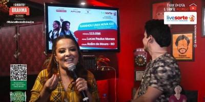 Morador de Rolim de Moura ganha caminhonete S10 em sorteio na live de Maiara & Maraísa