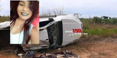 Identificada vítima fatal em capotamento na zona rural de Alta Floresta