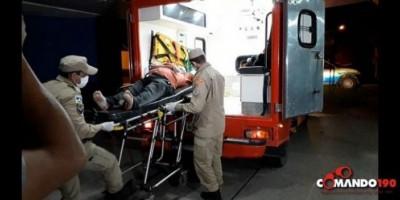 Comerciante é baleado durante tentativa de roubo, em Ji-Paraná