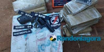 Policiais prendem seis suspeitos com mais de 60 quilos de droga em Porto Velho