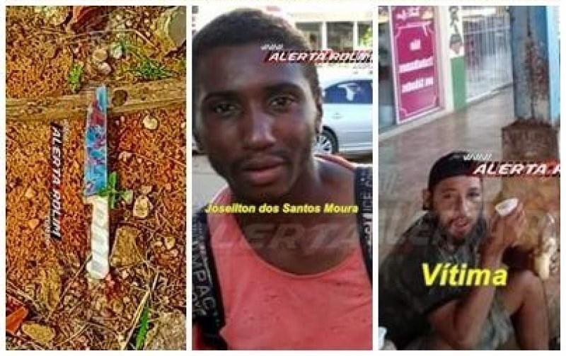 Suspeito de matar morador de rua a facadas, é preso em Rolim de Moura