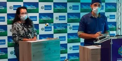 Segundo Sesau, pico de contágio do coronavírus em Rondônia é dia 20