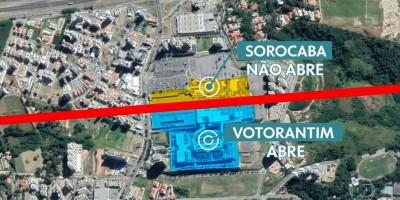 Bizarro: Shopping construído na divisa entre duas cidades em SP fica 'dividido' após...