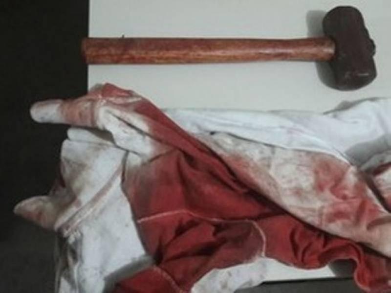 Homem é morto a marretadas após discussão por causa de rede para dormir