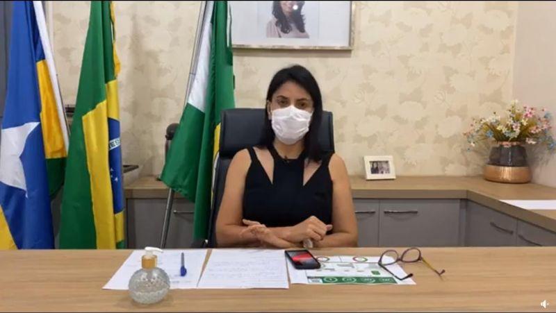 Prefeita de Cacoal diz não concordar com decisão do governo de RO em voltar a fechar comércio no município