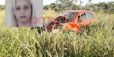 Mulher morre ao perder controle de veículo e capotar em Colorado