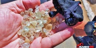Em Ji-Paraná, PM prende foragido da justiça transportando pedras preciosas extraídas...