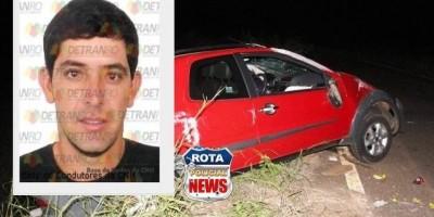 BR-435: motorista morre após grave acidente em Colorado do Oeste
