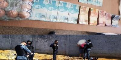 Casal compra dinheiro falso na internet e acaba preso em Ariquemes