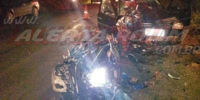 Grave acidente de trânsito é registrado entre as linhas 168 e 172 em Rolim de Moura