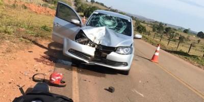 Grave acidente é registrado nesta manhã na RO-383, em Alta Floresta