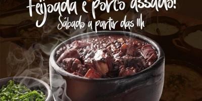 Rolim de Moura: Cardápio de hoje no Restaurante Sal da Terra; Deliciosa feijoada