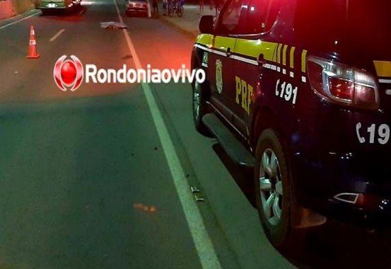 Mulher morre após ter corpo dilacerado em atropelamento na BR-364 em Porto Velho