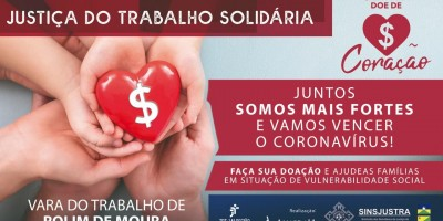 Em parceria com a Justiça do Trabalho, prefeitura distribui cestas básicas em Rolim de...
