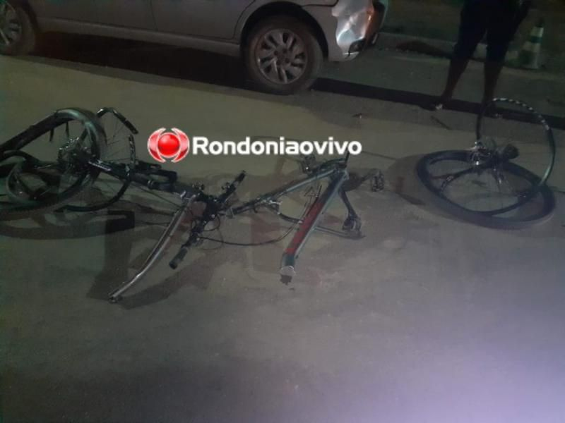 Ciclista é atropelado e morto por carro que participava de racha em Porto Velho; veja o vídeo