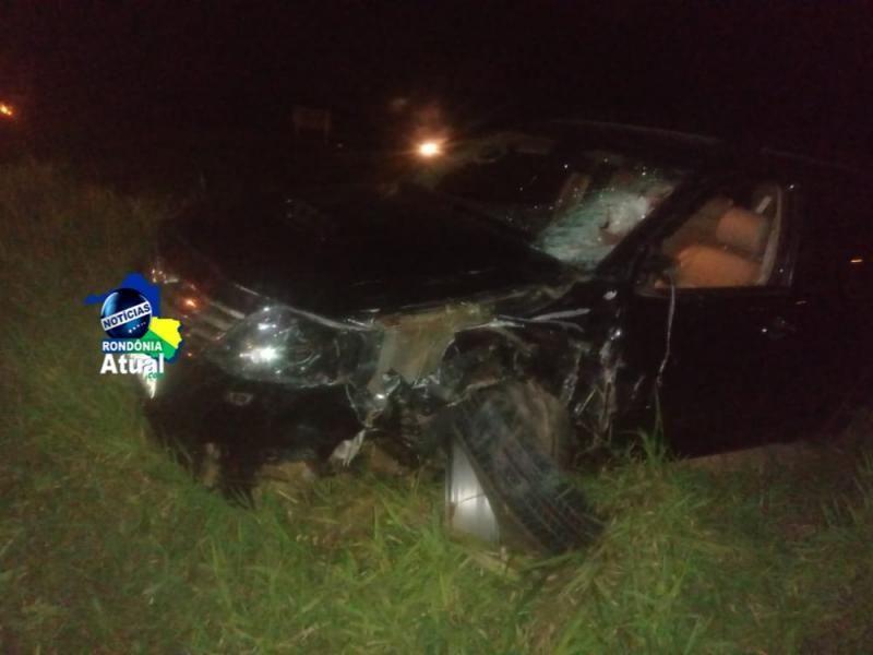 Trágico acidente na BR-364 tira a vida de motociclista em Presidente Médici; veja o vídeo