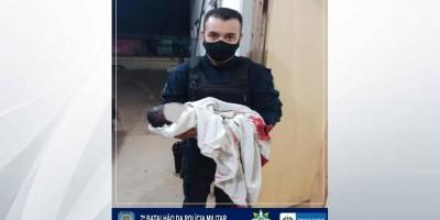 Em distrito de Ariquemes, Policiais Militares realizam parto de emergência dentro da...