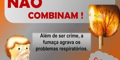 Intensificadas combate as queimadas urbanas em Rolim de Moura