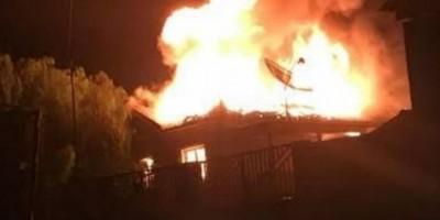 Mulher é agredida e tem casa incendiada pelo marido no dia do aniversário