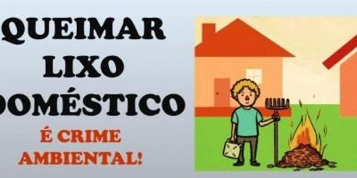 Rolim de Moura: Secretaria de Meio Ambiente alerta que queimar lixo doméstico é crime...