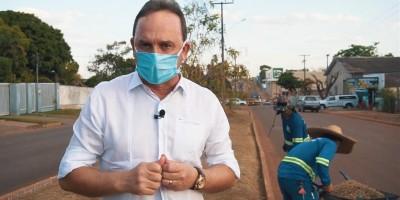 Prefeito de Rolim de Moura anuncia que 'Tapa Buracos' pode começar nos próximos dias