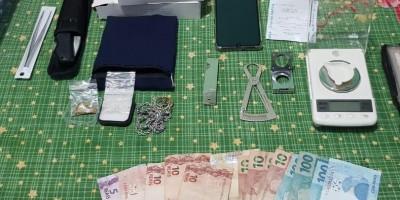 Compradores do Mato Grosso são presos pela PF em Espigão em posse de ouro e diamantes